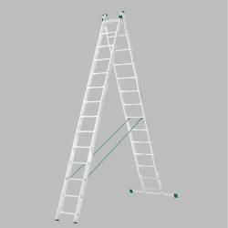 Scara universala cu doua tronsoane 14 trepte
