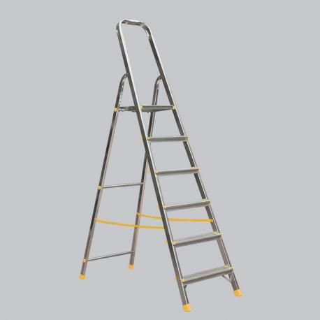Scara dubla cu urcare pe o parte cu 6 trepte